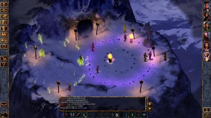 Baldur's Gate I y II - Mejores juegos RPG para PC