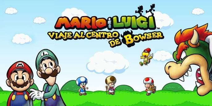 1 Mario & Luigi Viaje al Centro de Bowser