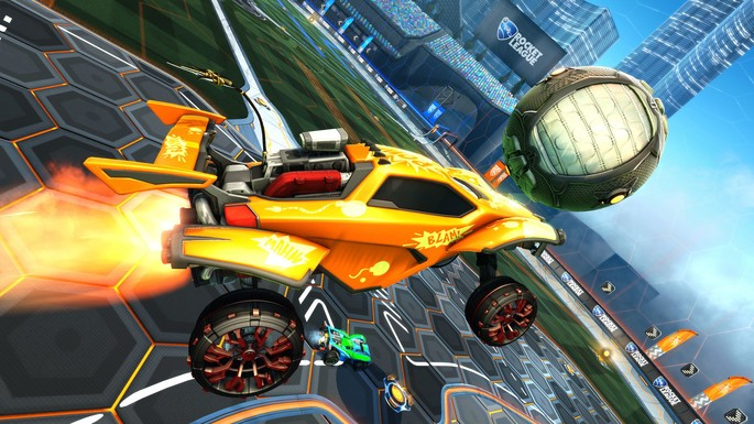 1 Rocket League - Juegos multijugador local