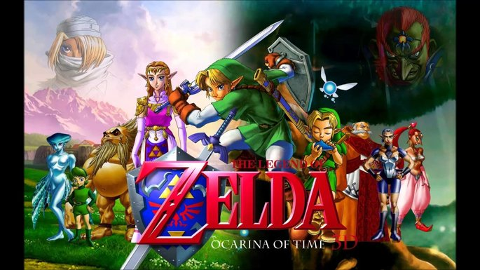1 The Legend of Zelda Ocarina of Time