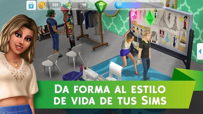 10 Los Sims Móvil