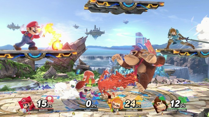 10 Super Smash Bros Ultimate - Juegos multijugador local