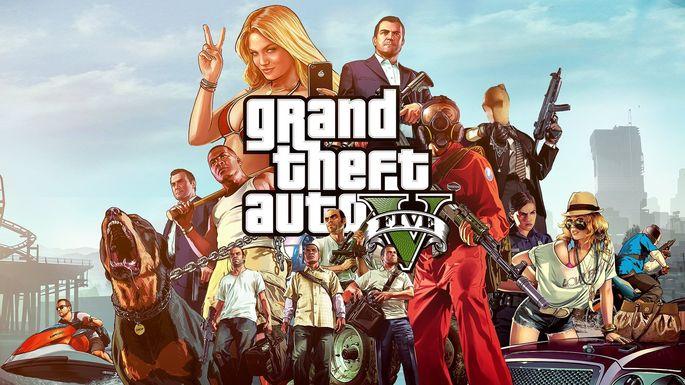 11 Grand Theft Auto V