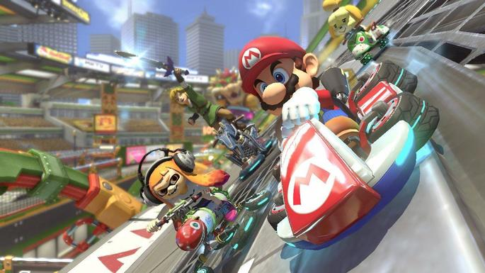 11 Mario Kart 8 - Juegos multijugador local