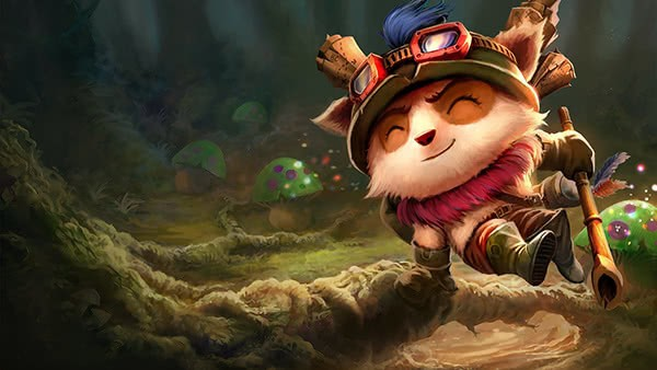 League of Legends Teemo LP