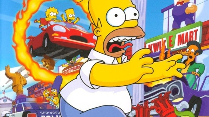 11 The Simpson Hit & Run - Juegos parecidos a GTA