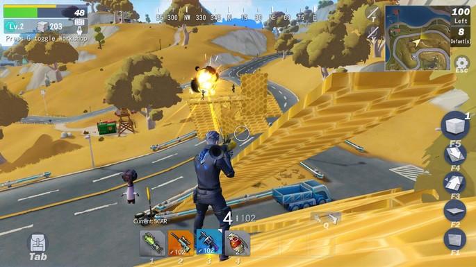 12 Creative Destruction - Juegos parecidos a Fortnite