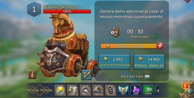 Lords Mobile Caballo de Troya