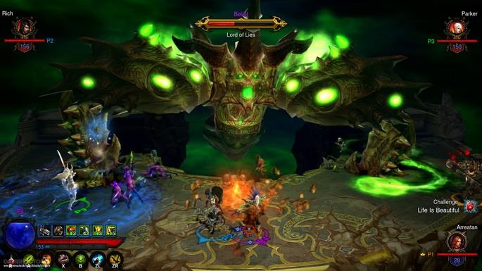 13 Diablo 3 - Juegos multijugador local