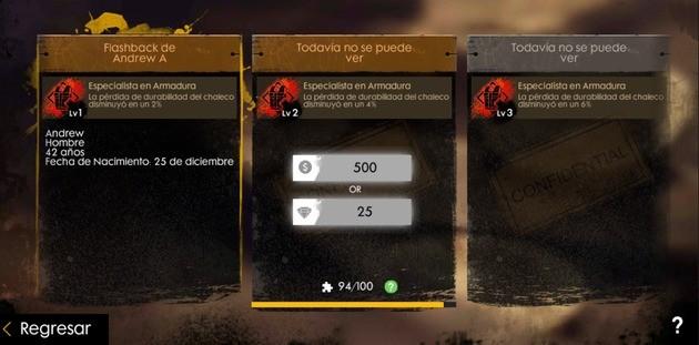 free fire experiencia personaje