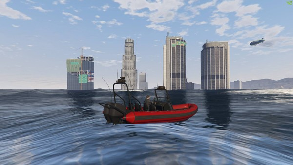 GTA V Mods: No Water, Tsunamis, Atlantis