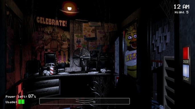 15 Five Nights at Freddy's - Mejores juegos de terror