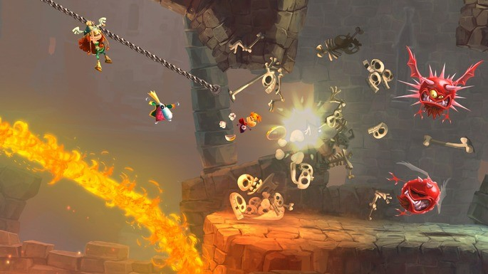 15 Rayman Legends - Juegos multijugador local
