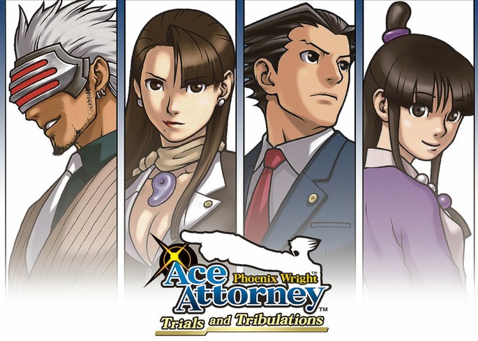 16 Phoenix Wright Ace Attorney Trials and Tribulations