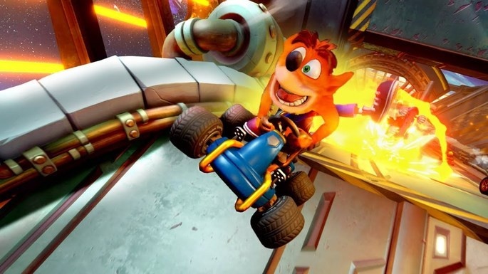 18 Crash Team Racing Nitro-Fueled - Juegos multijugador local