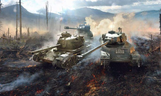 18 World of Tanks