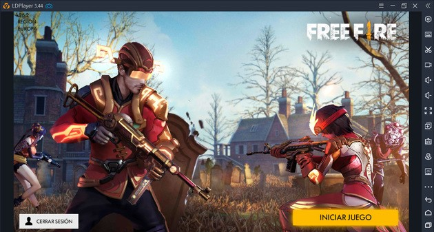 Iniciar Free Fire LD Player