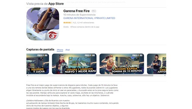 Free Fire iOS