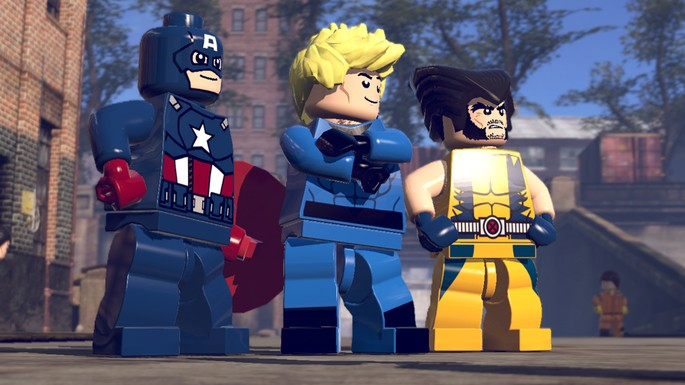 20 Lego Marvel Super Heroes - Juegos multijugador local