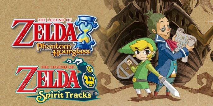 20 The Legend of Zelda Phantom Hourglass y Spirit Tracks