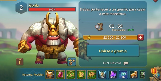22 Gorila - Lords Mobile