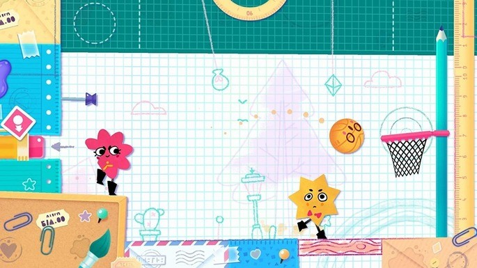 25 Snipperclips - Juegos multijugador local