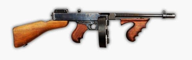 pugb tommy gun