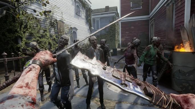 27 The Walking Dead Saints & Sinners - Mejores juegos de terror