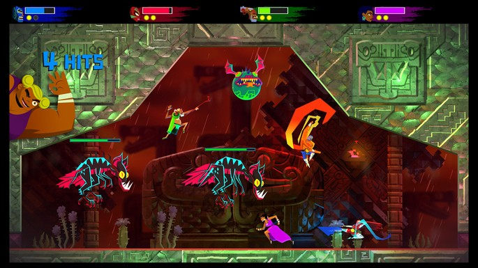 28 Guacamelee 2 - Juegos multijugador local
