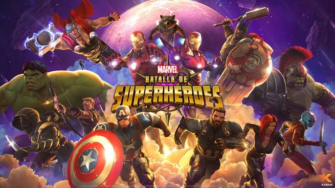 28 Marvel Batalla de Superhéroes