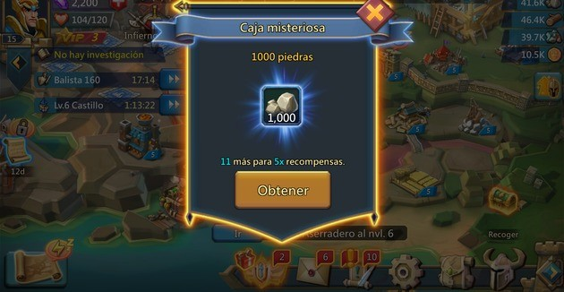 Lords Mobile Caja Misteriosa