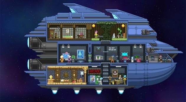 Mejores juegos para PC con pocos requisitos: Starbound