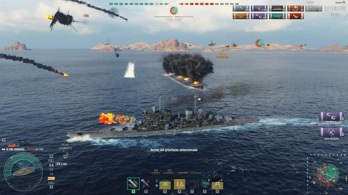 32 World of Warships