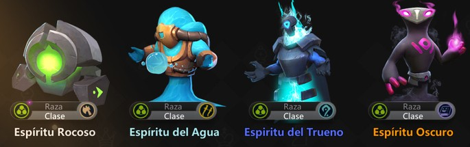 Auto Chess Mobile: Espíritu