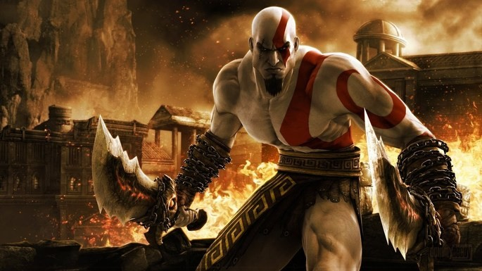 4 God of War 1 2005