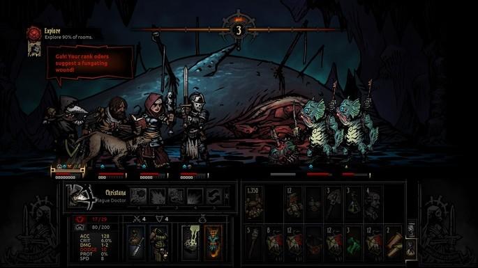 Darkest Dungeon - Mejores juegos RPG para PC