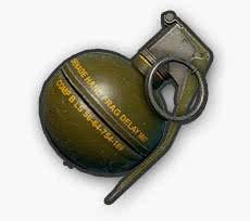 pugb granada de fragmentación