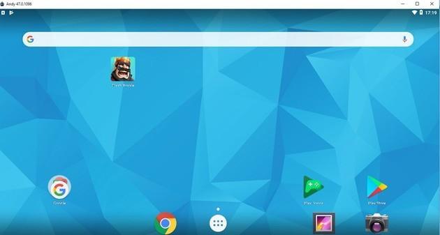 Emulador Android AndyOS