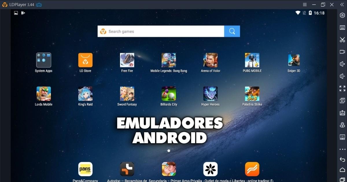 descargar emulador de android para pc rapido y ligero