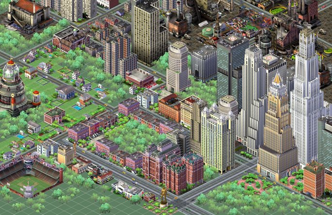 5 SimCity 3000