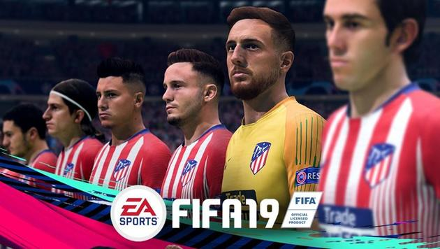 FIFA 19 Atlético Madrid