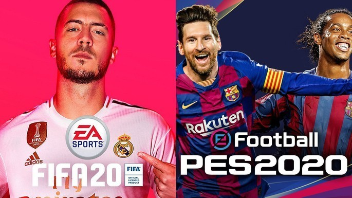 6 FIFA 20 PES 2020 - Juegos multijugador local
