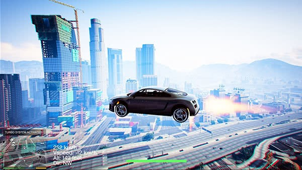 GTA V Mods: Vehicles Jetpack