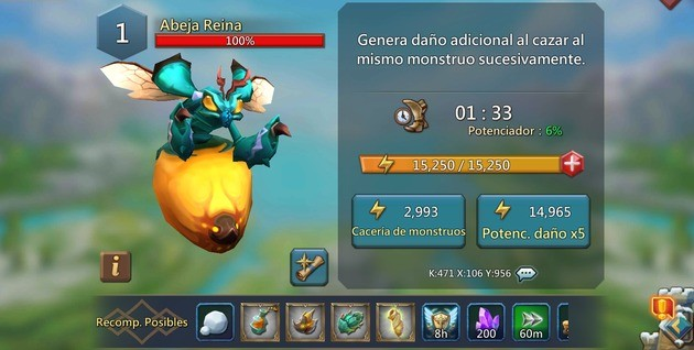 Lords Mobile Abeja Reina