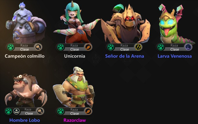 Auto Chess Mobile: Bestia