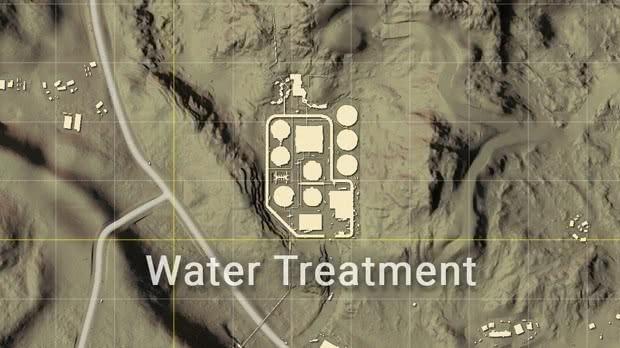 PUBG Estación tratamiento de agua Miramar