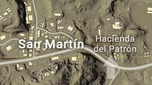 PUBG Hacienda del Patrón Miramar