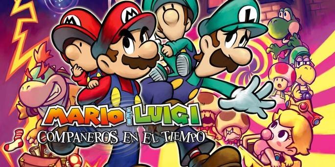 9 Mario & Luigi Compañeros en el Tiempo