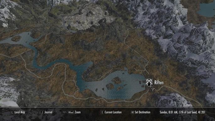 A Quality World Map - Mods Skyrim