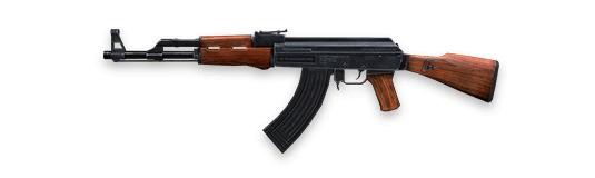AK - Free Fire - Ametralladora